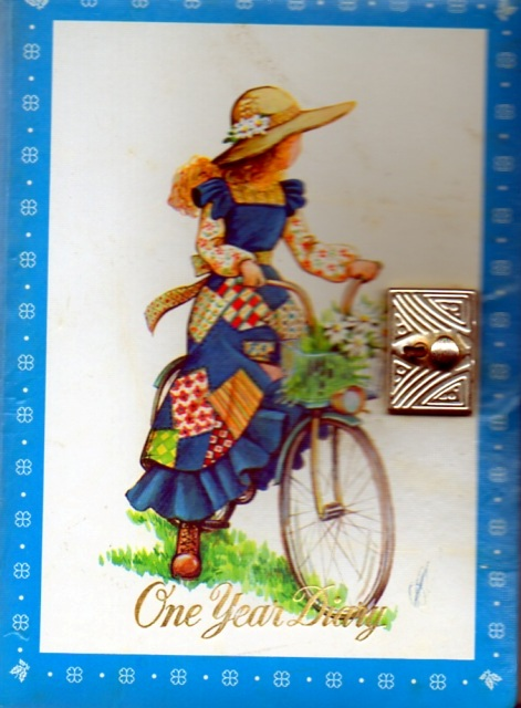 Diary cover 1980