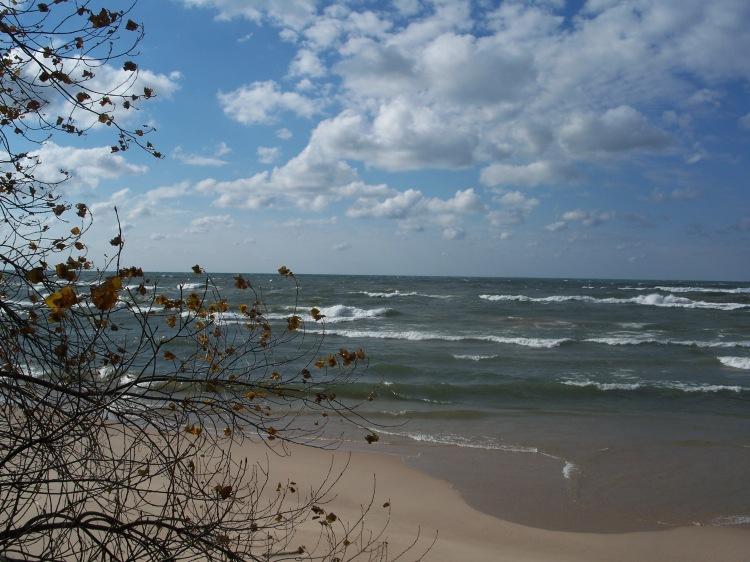 Lake Michigan Fall