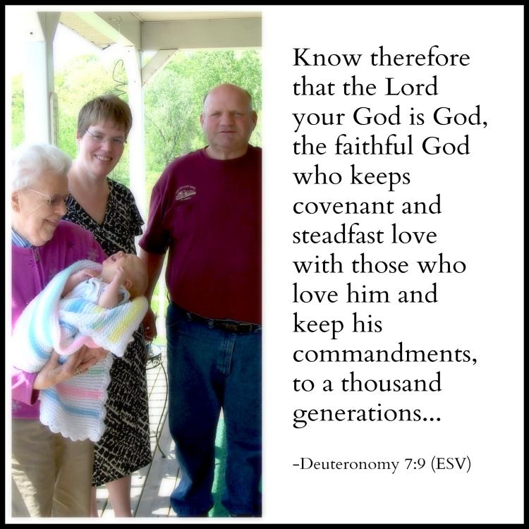 Deuteronomy 7:9 (ESV)