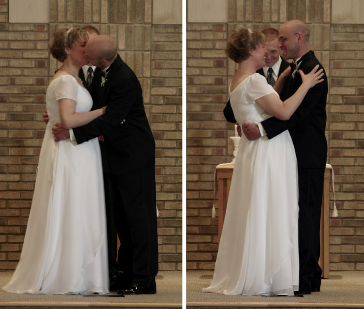 First Kiss!  Pure Bliss!